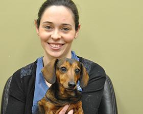 Jillian Caissie Veterinary Tech