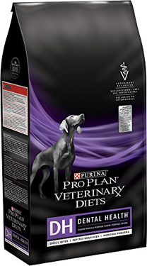 Bag of Purina Pro Plan Veterinary Diets dental health dog food